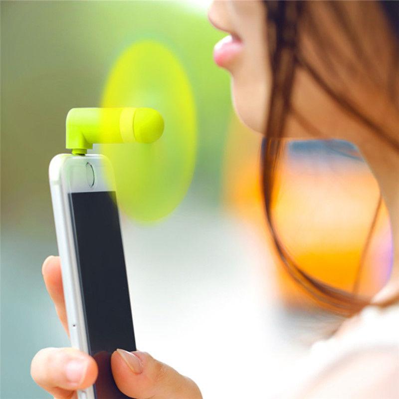 T/él/éphone cellulaire mobile portable Format de poche Ventilateur Accessoire Type C Connecteur pour Huawei P20 Lite I-Sonite/® Noir